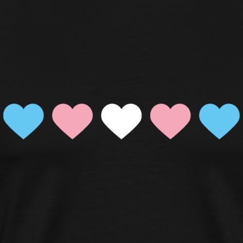 Trans-Heart - Men's Premium T-Shirt
