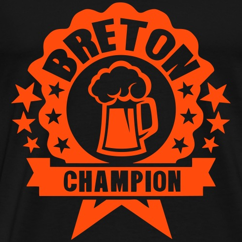 breton champion biere alcool logo picole - T-shirt Premium Homme
