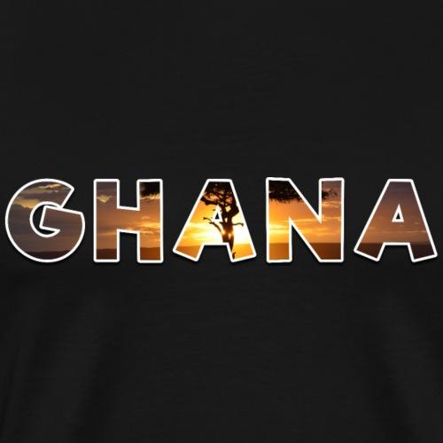 Ghana - Männer Premium T-Shirt