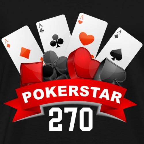 pokerstar270 - Männer Premium T-Shirt