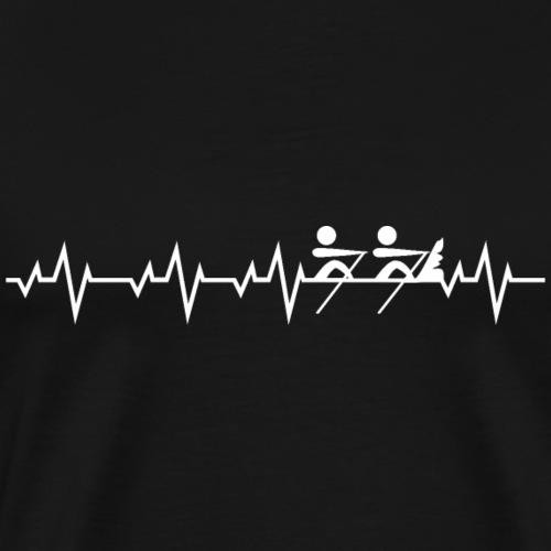 Coastal Rowing Regatta Rudersport Rudern Shirt - Männer Premium T-Shirt