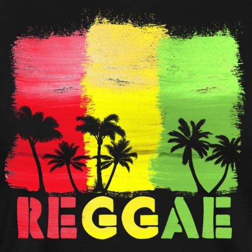 Reggae Palms - Männer Premium T-Shirt