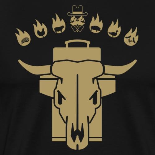 GRILL BADGE v46G - Männer Premium T-Shirt