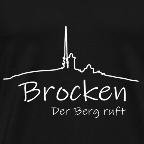 Brocken - der Berg ruft ! - Männer Premium T-Shirt