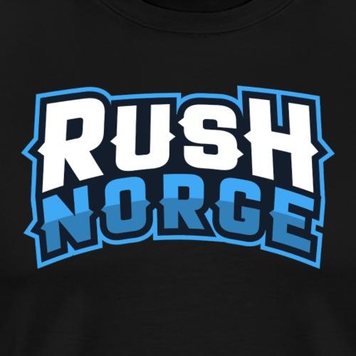 RushNorge 2018 - Premium T-skjorte for menn