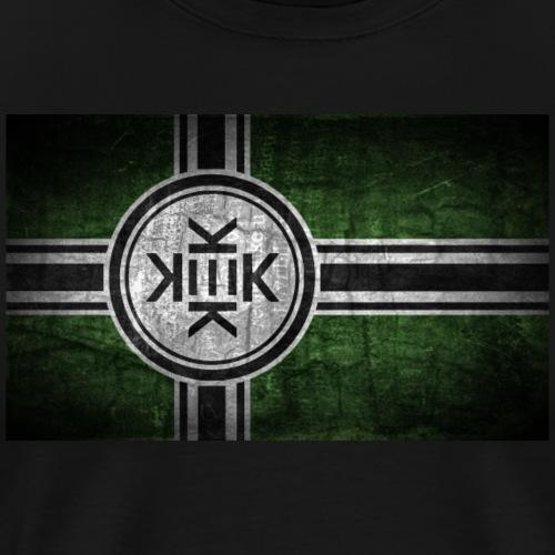 Vintage Kekistan Flag - Men's Premium T-Shirt