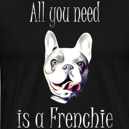 Französische Bulldogge T-Shirt Frenchie - Männer Premium T-Shirt