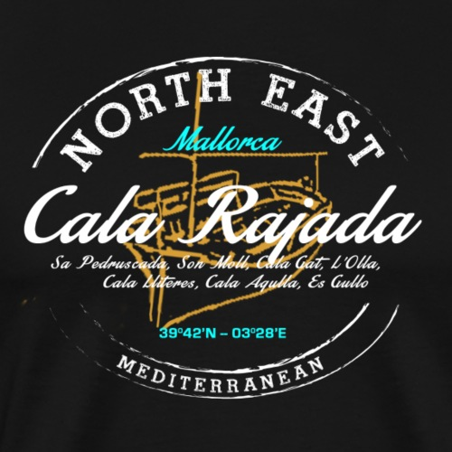 Cala Rajada - Camiseta premium hombre