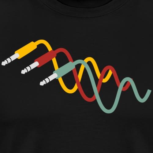 Patchkabel - Männer Premium T-Shirt