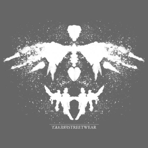 Rorschach_weiß - Männer Premium T-Shirt