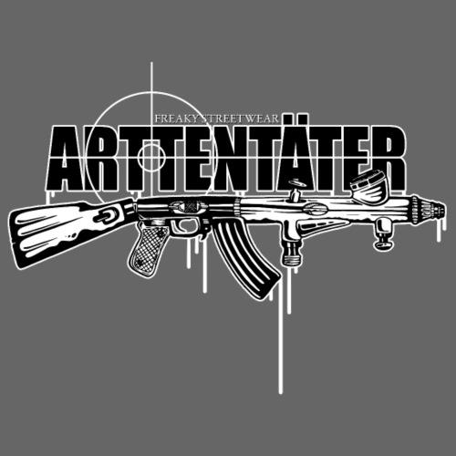 Arttentäter 4 - make art, not war - Männer Premium T-Shirt