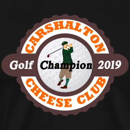 Cheese Club 2019 Golf Champion - Men's Premium T-Shirt
