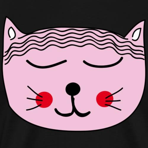 Katze Miau - Männer Premium T-Shirt
