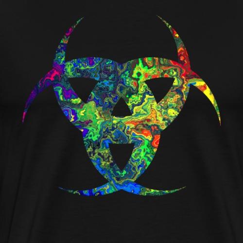 Virus bunt verwässert - Männer Premium T-Shirt