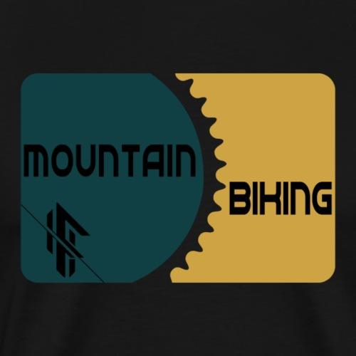 Mountainbiking Fahrrad Ritzel Trail - Männer Premium T-Shirt