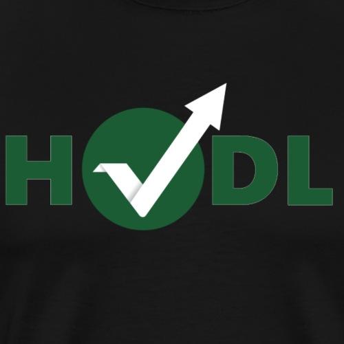 HODL- Vertcoin - Men's Premium T-Shirt