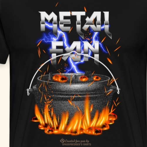 Metal Fan | ▶ Visit Dutch Oven T-Shirts - Männer Premium T-Shirt