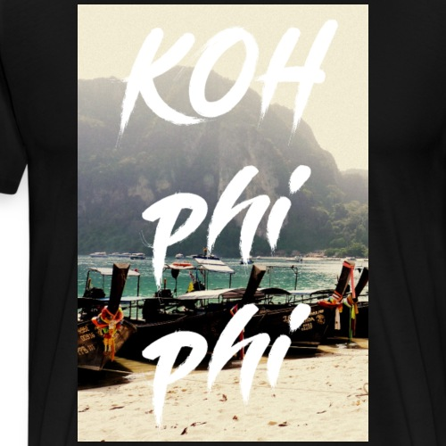 Koh Phi Phi Thailand - Männer Premium T-Shirt