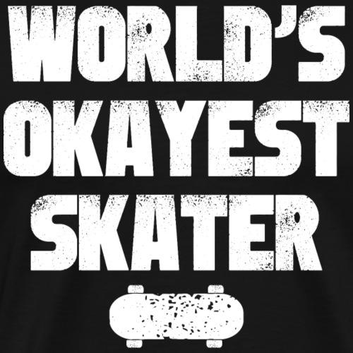 Skater Shirt Skateboardfahrer Geschenk - Männer Premium T-Shirt