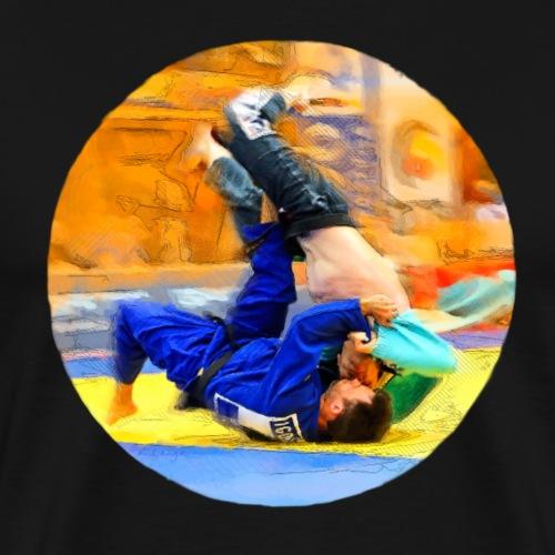 Sumi-gaeshi-Judowurf - Männer Premium T-Shirt