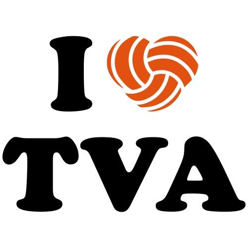 I love TVA individualisierbar - Männer Premium T-Shirt