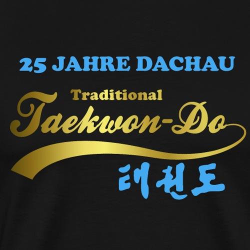 25 Jahre blau gold - Männer Premium T-Shirt