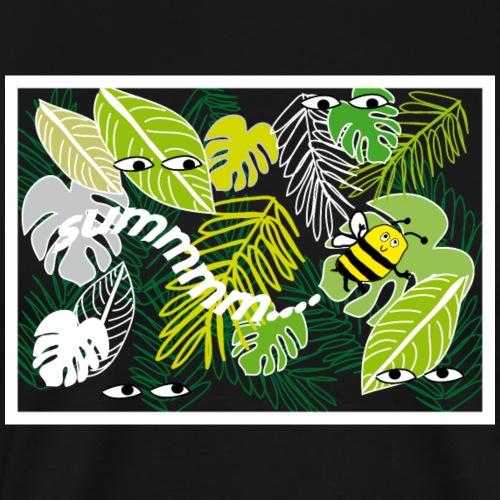 Biene Im Dschungel - Männer Premium T-Shirt