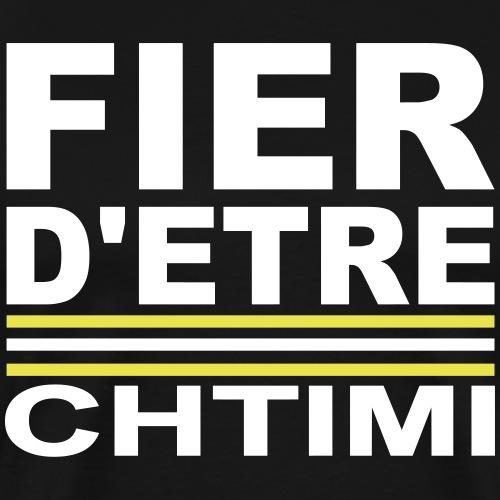 Fier D'ETRE Chtimi Noir - T-shirt Premium Homme