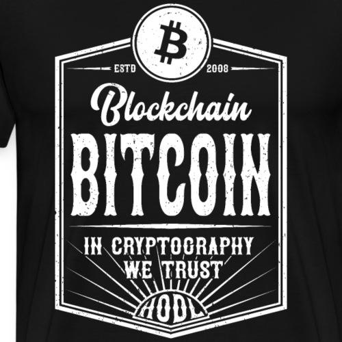 Bitcoin - Koszulka męska Premium