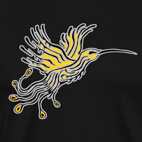 Colibri-Phoenix Gris-Orpin - T-shirt Premium Homme