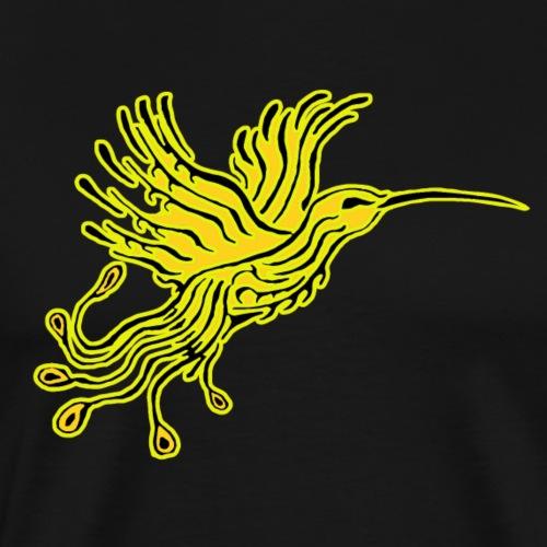 Colibri-Phoenix jaune-Orpin - T-shirt Premium Homme