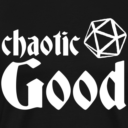 Chaotic Good - Men's Premium T-Shirt