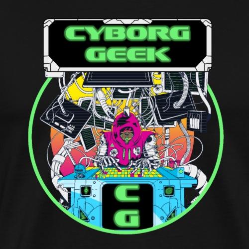 Cyborg Geek - T-shirt Premium Homme