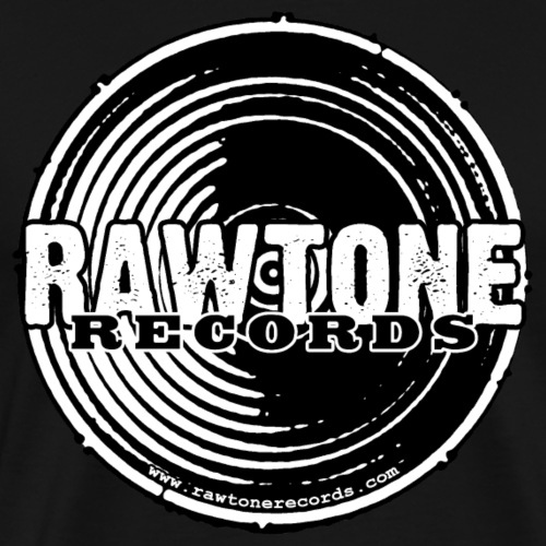 Rawtone Records - full logo - Men's Premium T-Shirt