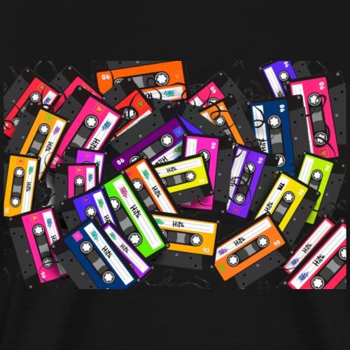 Cassetes - Camiseta premium hombre