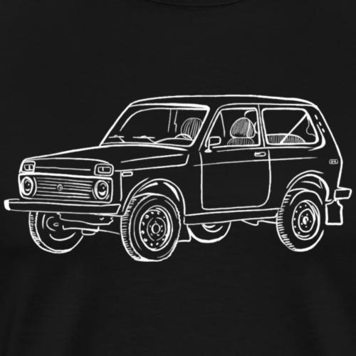 Lada Niva - T-shirt Premium Homme