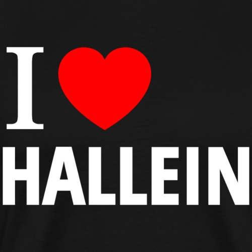 I love Hallein - Männer Premium T-Shirt