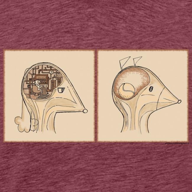 Inside Gnappa and Momo heads