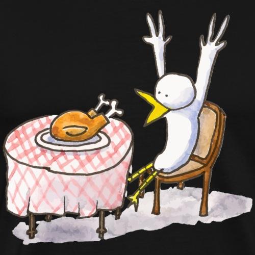 Le repas inattendu - T-shirt Premium Homme