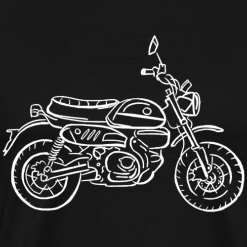 Moto singe - T-shirt Premium Homme