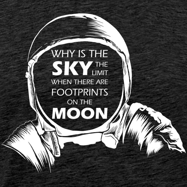 Astronaut - Footprints on the Moon