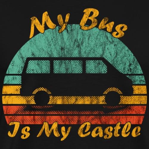 My Bus Is My Castle (Used) - Männer Premium T-Shirt