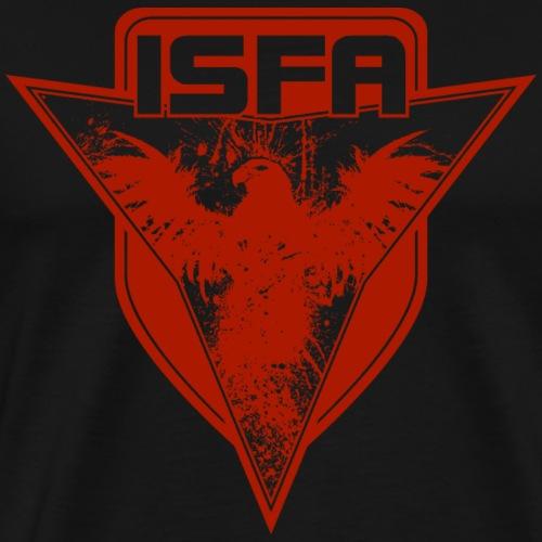 isfa logo 1c rot - Männer Premium T-Shirt