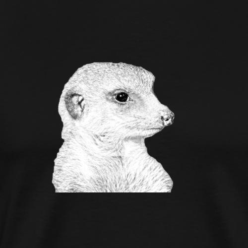 Erdmaennchen Meerkat - Männer Premium T-Shirt