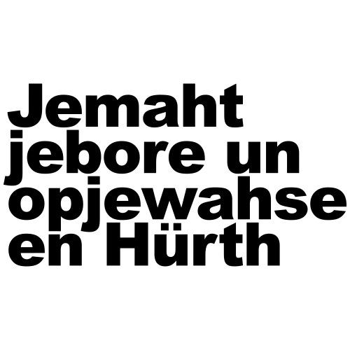 Jemaht jebore un opjewahse en Hürth - Männer Premium T-Shirt