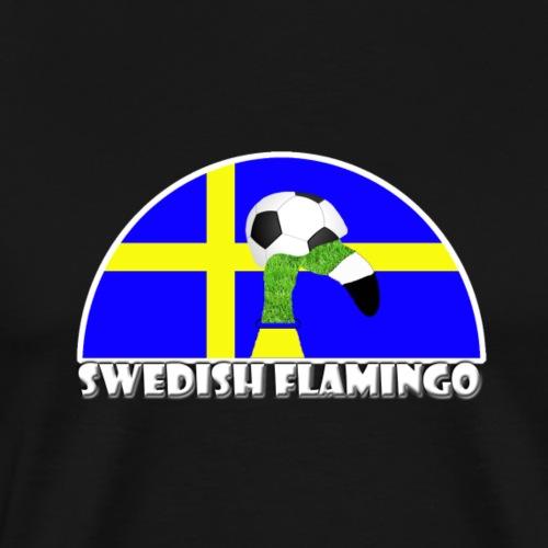 Schwedischer Fußball Rasen Flamingo