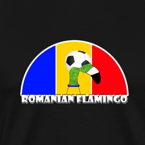 Rumänischer Fußball Rasen Flamingo