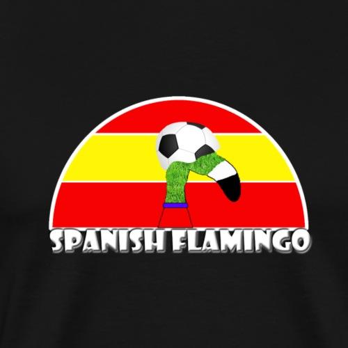 Spanischer Fußball Rasen Flamingo