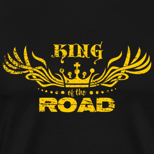 King of the road light - Mannen Premium T-shirt
