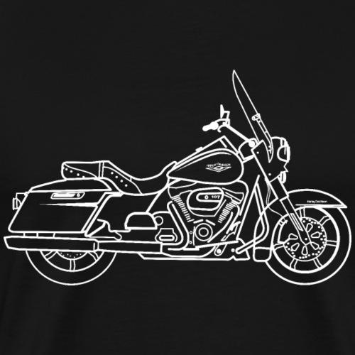 Moto Road King - T-shirt Premium Homme